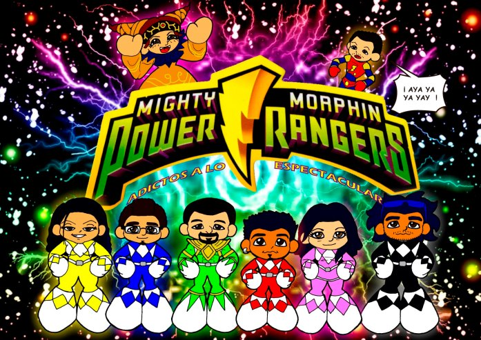 Power Rangers. Jenco & Blacks. Parody